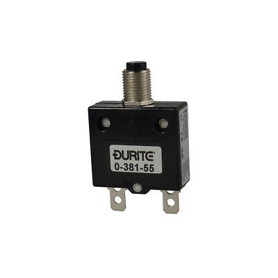 £6.99 • Buy 12v 24v Thermal Resettable Circuit Breaker Panel Mount 5-45A Rating - Durite