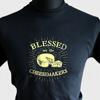 £10.99 • Buy Blessed Are The Cheesemakers Life Of Brian T Shirt 80's Monty Python Joke Funny