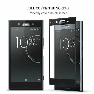 AU10.35 • Buy Full Screen Cover Sony XZ/XZs,XZ Premium Tempered Glass Screen Protector