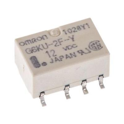 £6.99 • Buy 1 X Omron Surface Mount Latching Relay 1A, 12V Dc For Use In Signal Applications