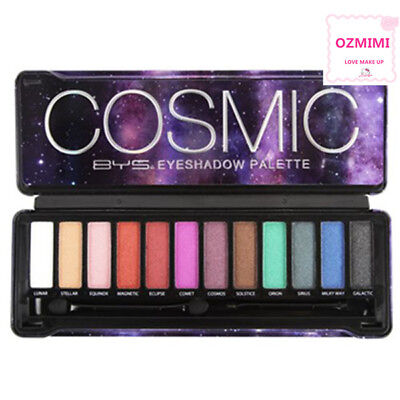 AU18.99 • Buy BYS NUDE COSMIC Eyeshadow Palette 12 Shades,Naked Natural Eye Shadow - Sealed