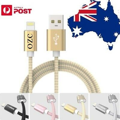 AU8.99 • Buy HQ MFI Certified USB Data Charging Cable For Apple IPhone XR XS X 8 7 6 5 IPad