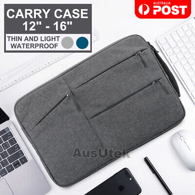 AU20.95 • Buy Waterproof Laptop Sleeve Carry Case Cover Bag Macbook Lenovo Dell HP 12  13  15