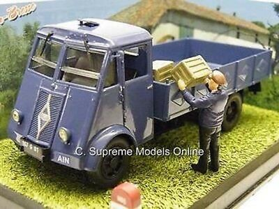 £26.99 • Buy Renault Atfn Lorry & Diorama Scene Classic French Truck Blue Pack L675 /=/
