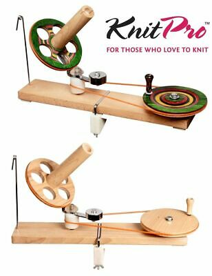 KnitPro Wooden Yarn Ball Of Wool Winder - Signature Symfonie Wood Or Natural • 114.99£