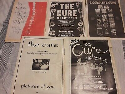£1.99 • Buy THE CURE - Original Advert / Small Poster KISS ME Prayer Tour PICTURES OF YOU *