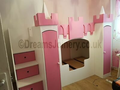 Windsor Castle, Prince Or Princess Bunk, Cabin Or Triple Sleeper Bed • 650£