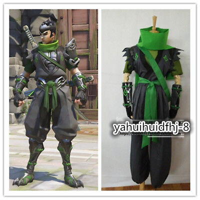 $ CDN93.94 • Buy NEW! Genji Young Sparrow Genji Skin Cosplay Costume Full Set