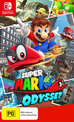 AU74.95 • Buy Super Mario Odyssey Switch Game NEW