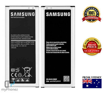 AU15.49 • Buy 3220mAh Replacement Battery For Samsung Galaxy Note 4 N910G N9100 EB-BN910BBE