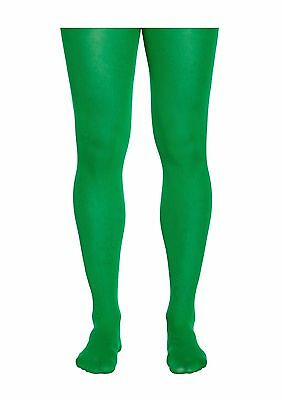 Elf Green Christmas Tights Adult Fancy Dress Accessory Pixie Christmas Santa  • 2.37£