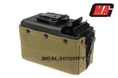 $145 • Buy MAG 2500rd Airsoft Toy Drum Pouch Magazine For Classic Army CA / TOP M249 AEG OD