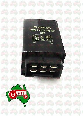 AU49.99 • Buy Tractor Indicator Flasher Unit Ford New Holland To Suit Many Models