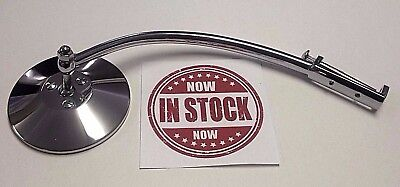 $49.95 • Buy 1940 Ford Car Chrome Hinge Pin Mirror Fits Driver Or Passenger Side, Street Rod