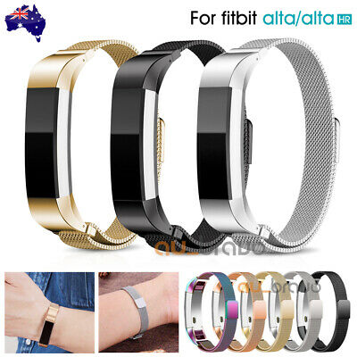 AU9.99 • Buy Stainless Steel Replacement Magnetic Spare Band Strap For Fitbit Alta / Alta HR