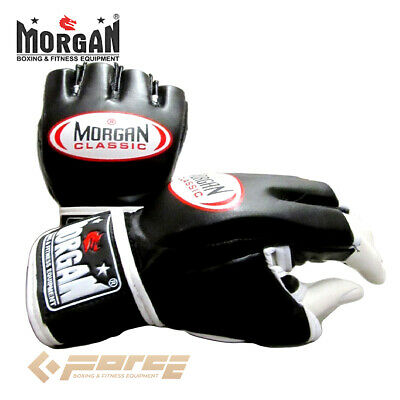 AU33.90 • Buy MORGAN Classic MMA Gloves Boxing Grappling Gloves