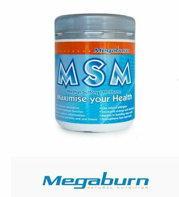 AU31.80 • Buy MEGABURN MSM Powder 400g