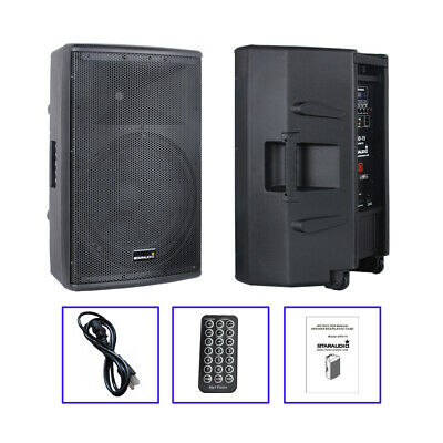 $2999.99 • Buy STARAUDIO 4000W 15  DJ PA Bluetooth Speaker System Audio Active Powered Speaker