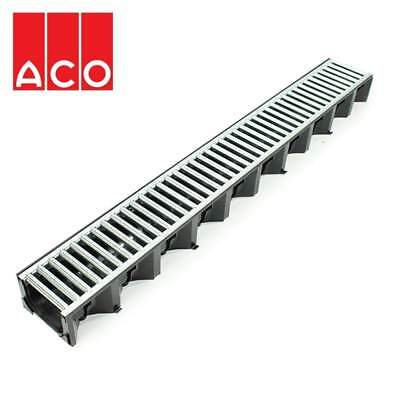£9.24 • Buy Aco Hexdrain High Strength Drainage Channel Galvanized Steel Grating 1000mm A15