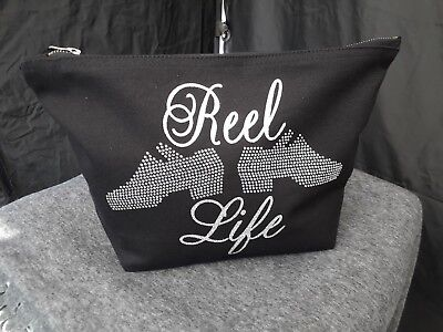 $16.41 • Buy IRISH DANCE Reel Life  DESIGN. Cosmetic/accessories Bag.