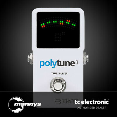 AU125 • Buy TC Electronic PolyTune 3 Poly-Chromatic Tuner W/ Built-In Buffer