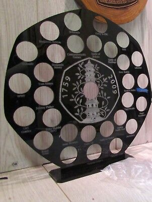 50p Pence Coin Hunt Album Stand Kew Gardens 50p Display Holder All Designs • 45£
