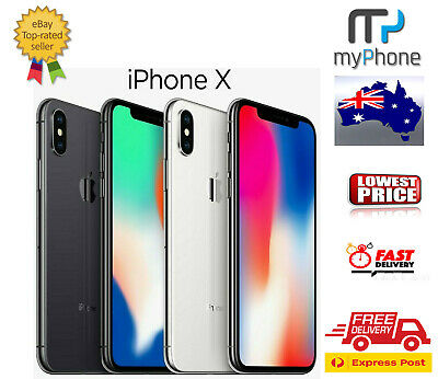 AU779 • Buy Apple IPhone Ten X [64GB / 256GB] Space Grey /Silver A1865 Unlocked (AU Stock)