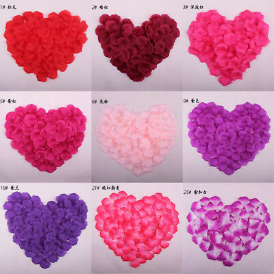 £1.84 • Buy Silk Fabric Rose Wedding Petals Scatter Confetti Table Decoration Engagement