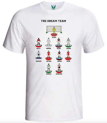 Personalised Subbuteo Style Dream Team T-shirt - Pick Your Own Players And Kit • 28£