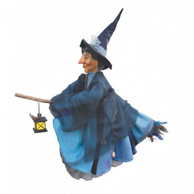 Witches Of Pendle - Agatha Witch Flying (Blue) 50cm (WOPAGAT50BLUE) • 31.95£