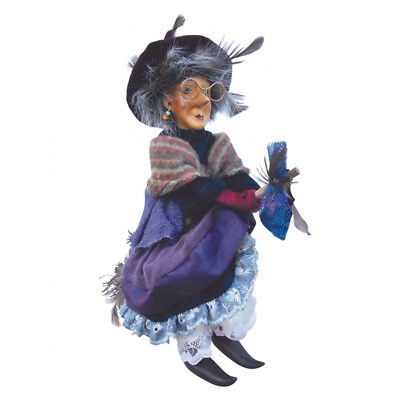 Witches Of Pendle - Althea Witch Flying (Purple) 24cm (WOPALTH24PURP) • 19.95£