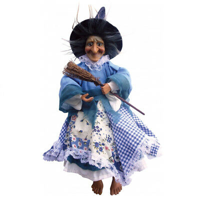 Witches Of Pendle - Willow Witch Flying (Blue) 25cm (WOPWILL25BLUE) • 18.95£