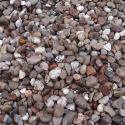 £13.99 • Buy DECORATIVE AGGREGATE STAFFORDSHIRE/CHESHIRE PINK GRAVEL CHIPPINGS 20MM 25kg BAG