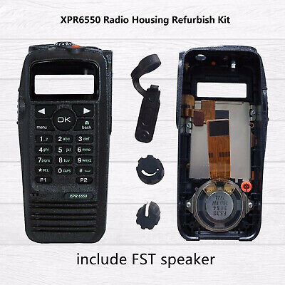 $30 • Buy Black Housing Refurbish Kit For MOTOROLA XPR6550 Case Handheld