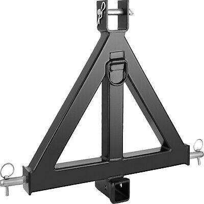 AU131.19 • Buy 3point 2 Receiver Trailer Hitch Category 1 Tractor Tow Drawbar Hook Heavy Duty