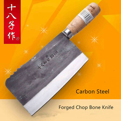 $ CDN70.50 • Buy Cleaver Chinese Chef Knife Forged Steel Slicing Chopping Wood Handle Style Meat