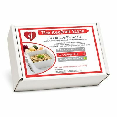£26.99 • Buy KeeDiet Meal Replacement VLCD 20 Cottage Pie Meals Weight Loss *NEW RECIPE*