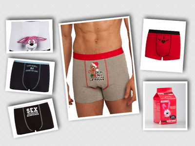 Fun Mens Valentines/Fun  Boxers By Ann Summers • 8.99£