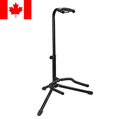 $ CDN18.99 • Buy Telescopic Guitar Stand Acoustic/Electric/Bass Adjustable Folding Tripod Stand