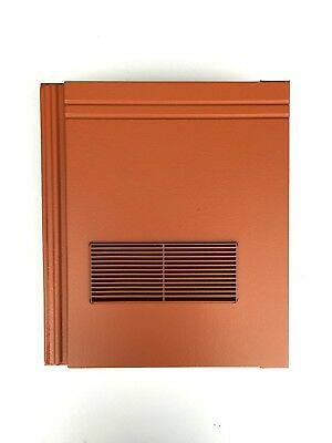 £44.99 • Buy Roof Tile Vent To Fit Redland Stonewold II Mk2   Terracotta Smooth   10 Colours