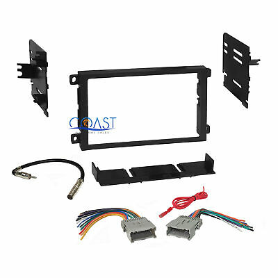 $17.95 • Buy Car Radio Stereo Dash Kit Wire Harness Combo For 1992-up Chevrolet GMC Pontiac