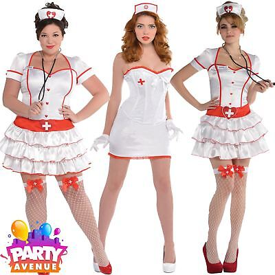Doctors And Nurses Fancy Dress Womens A&E Costumes Accessories Lot • 5.67£