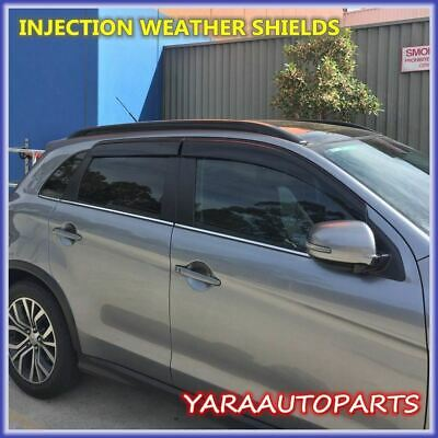 AU55 • Buy Quality Injection Weather Shields Window Visors For MITSUBISHI ASX 2010-2018