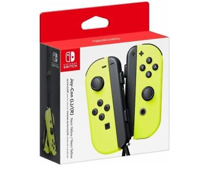 $79 • Buy Nintendo Switch Joy-Con Neon Yellow (HACAJADAA) Controller