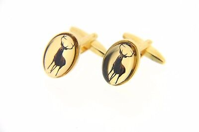 Soprano Stag Oval Country Cufflinks  • 11.99£