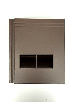 £44.99 • Buy Roof Tile Vent To Fit Redland Stonewold II Mk2   Brown Smooth   10 Colours