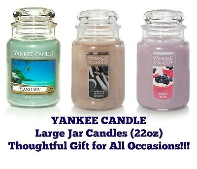 Yankee Jar Candles 22oz Jar Candle Thoughtful Gift--Any Occasion--Buy 2 & SAVE • 27.79£