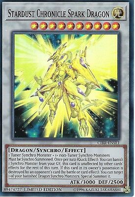 Yu-gi-oh Card: Stardust Chronicle Spark Dragon - Super Rare - Cibr-ense1 • 0.99£
