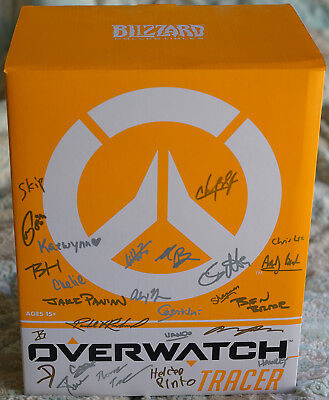 AU1285.96 • Buy Autographed Overwatch Tracer Limited Editon Statue Blizzcon 2015 Exclusive
