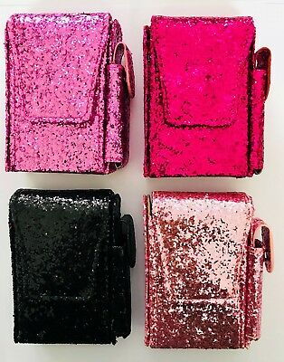 Super King Cigarette Pouch And Lighter Holder Pastel Glitter  Effect  NEW! • 7.20£